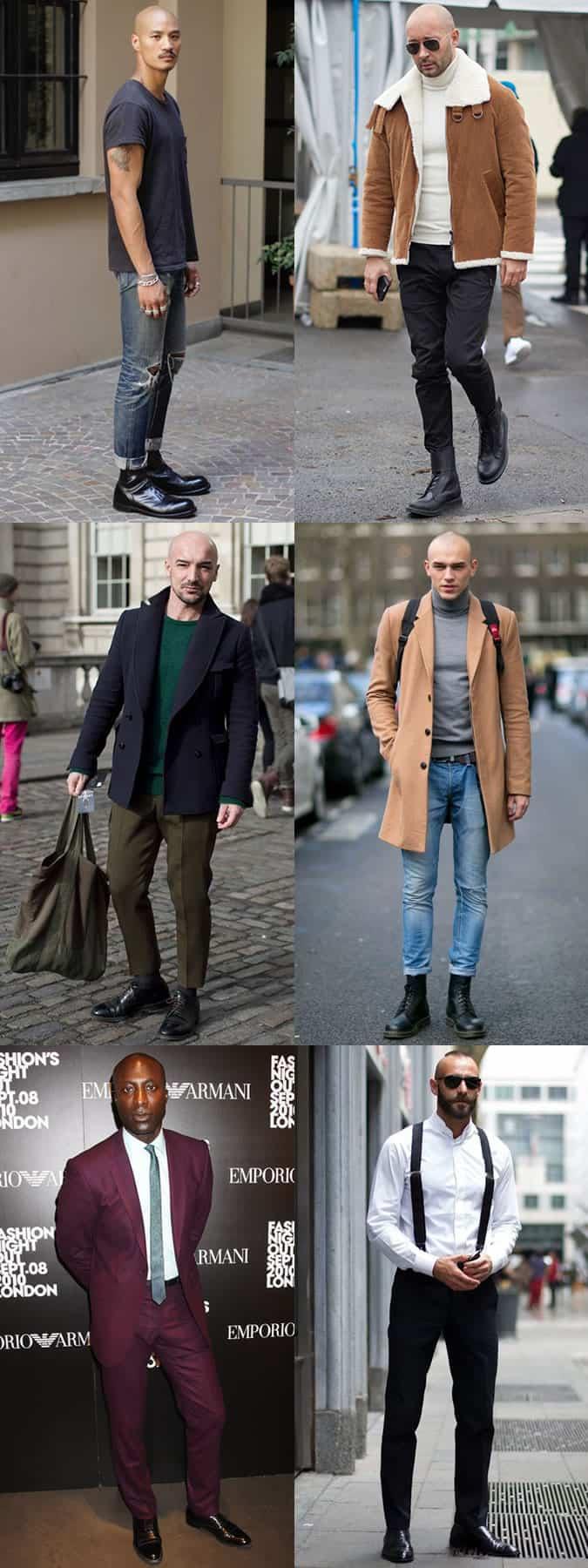Stylish Bald Men