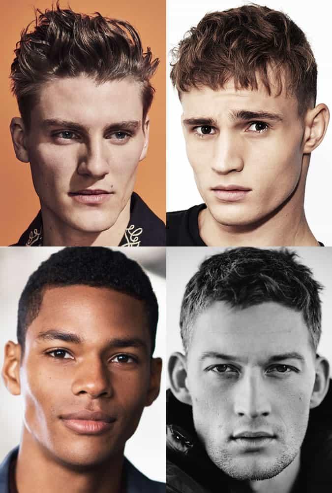 Men's Short Textured Summer Haircuts