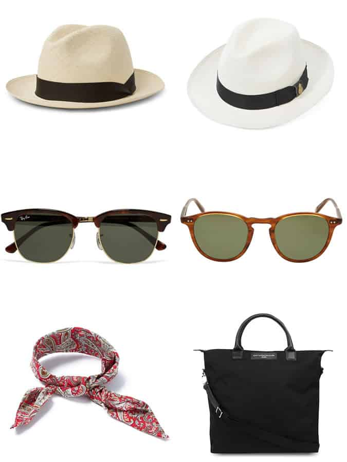 the most stylish Riviera accessories for men