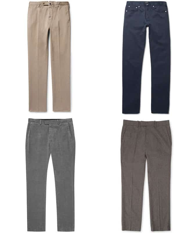 the best smart-casual trousers for men