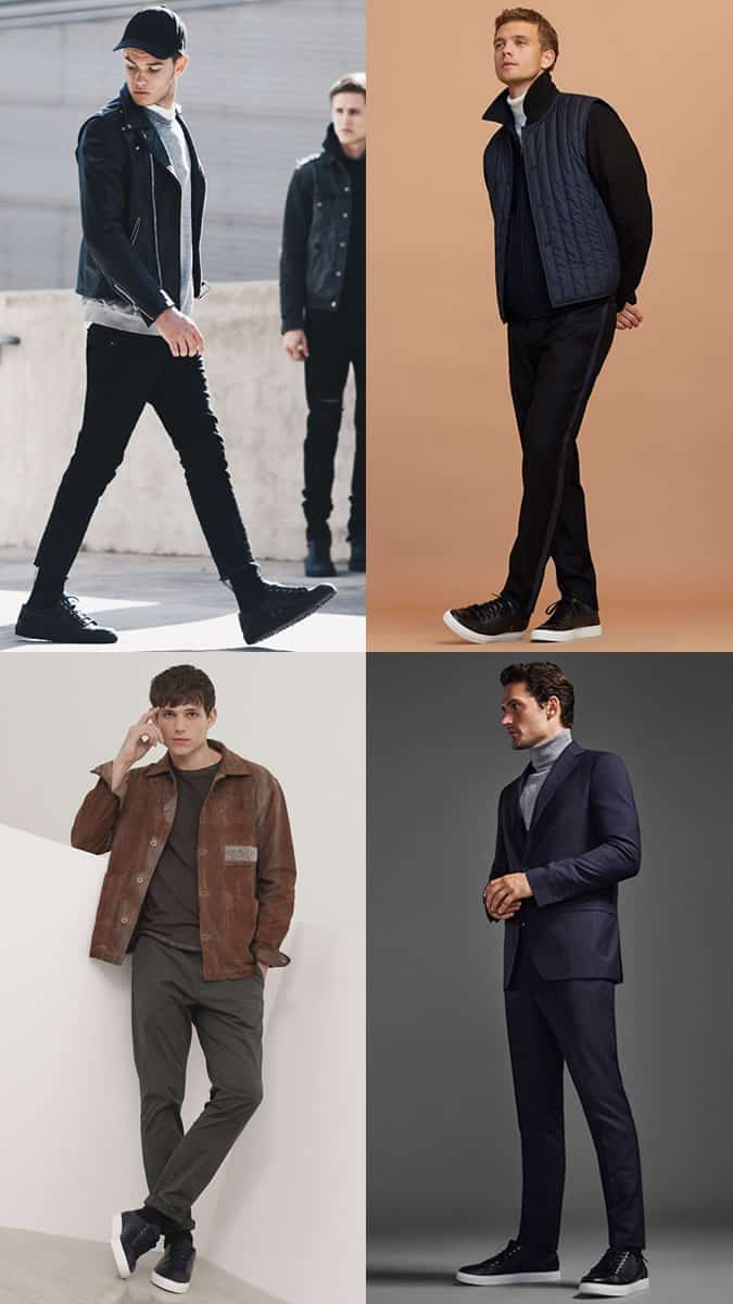 practical sneakers for the autumn and winter