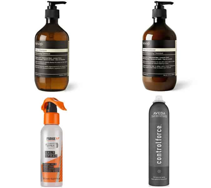 styling products for long men's hairstyles