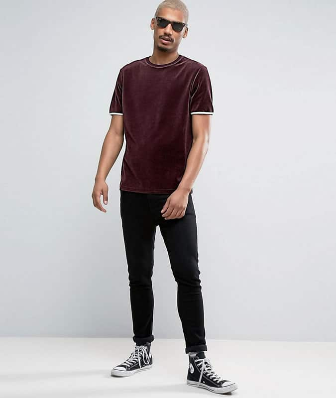 how to wear a terry cloth T-shirt