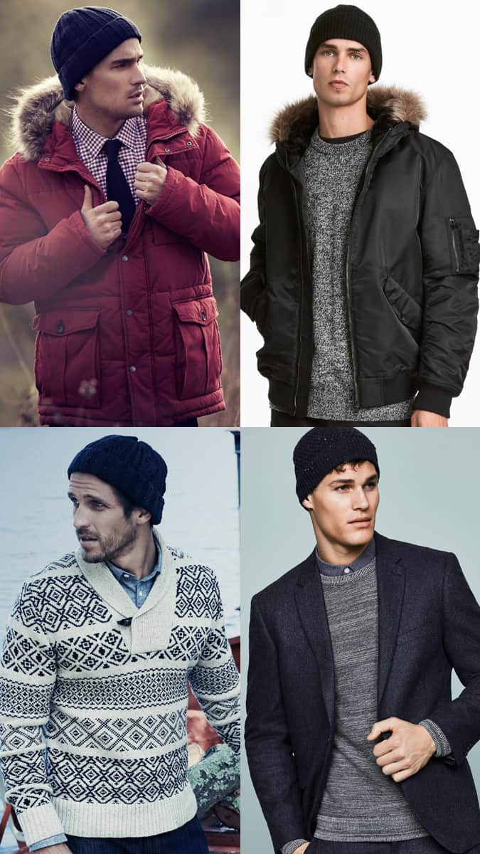 How to wear a beanie hat in winter