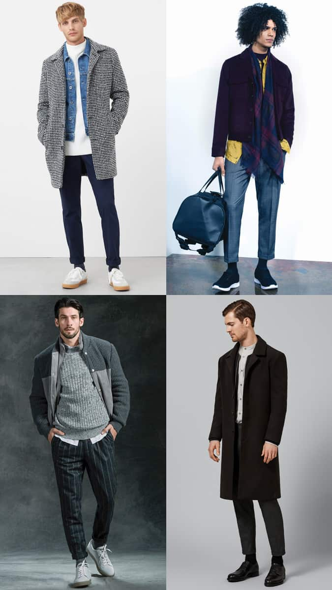 Why men should wear socks in winter