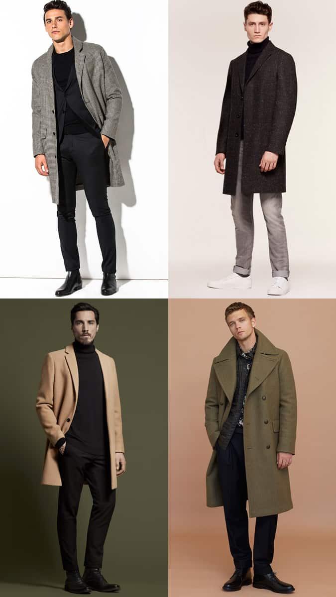The best ways to wear an overcoat for men