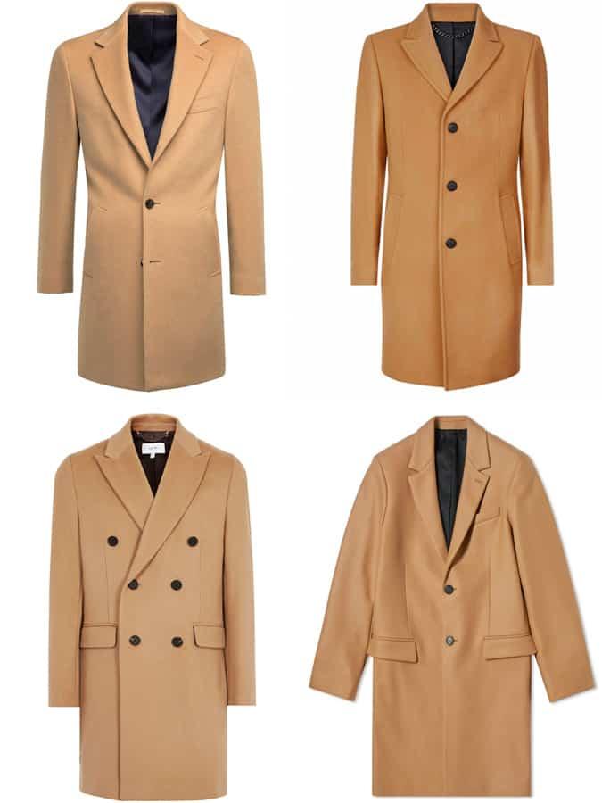 the best camel overcoats for men