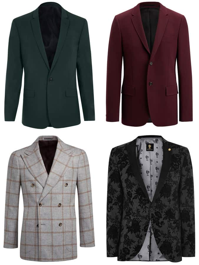 the best statement suits for men