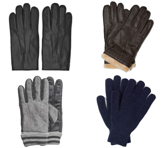 The best Men's leather and wool gloves for winter
