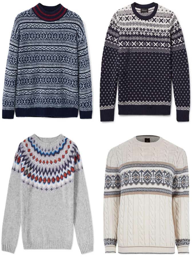 The best fair isle jumpers for men
