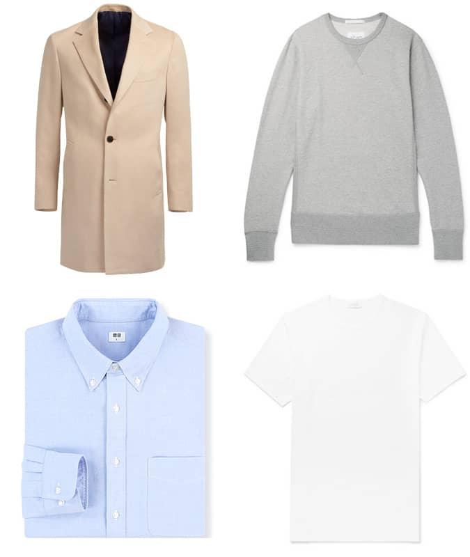 The best men's wardrobe basics