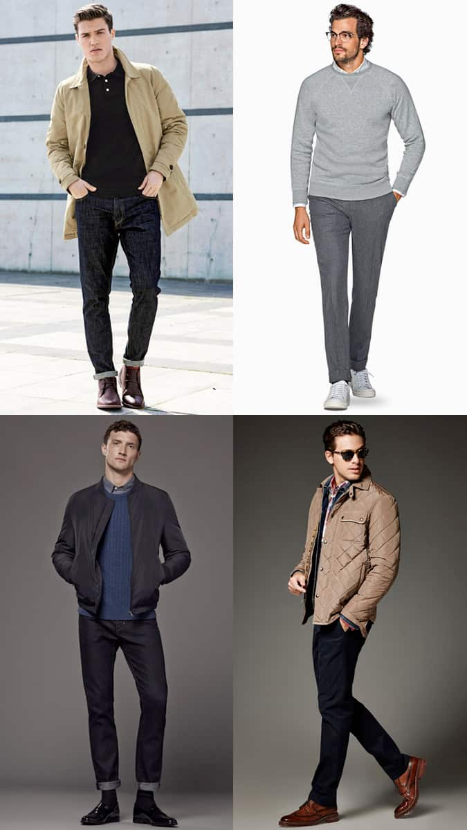 Men's timeless outfit combinations