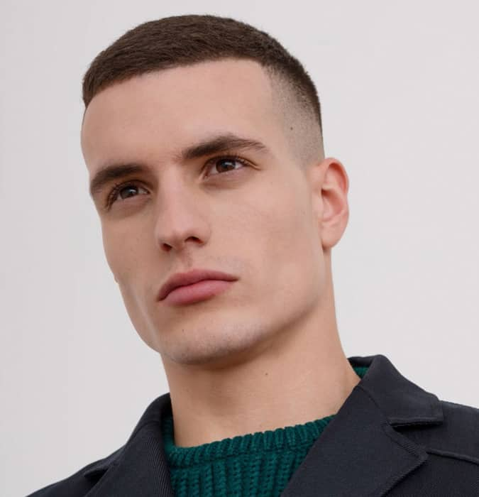 the high and tight hairstyle for men with receding hair