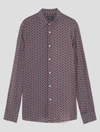 Zara Loose-fitting Floral Shirt