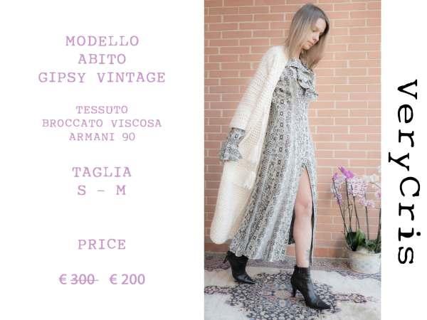 Occasioni MODELLO-ABITO-GIPSY-VINTAGE