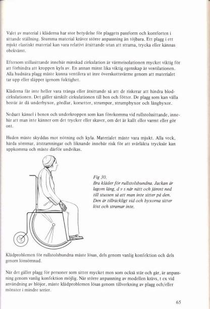 Kläder och handikapp