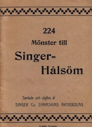 224 mönster till Singer hålsöm