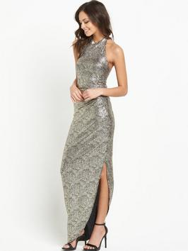 lipsy-highnbspneck-sequin-maxi-dress-with-side-split