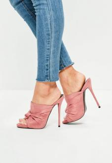 pink-knot-detail-mule-sandals