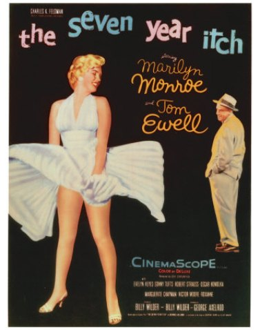 the seven year itch marylin monroe
