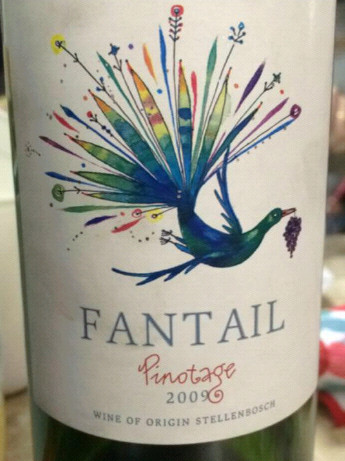 Fantail Pinotage 2009 54 7777777