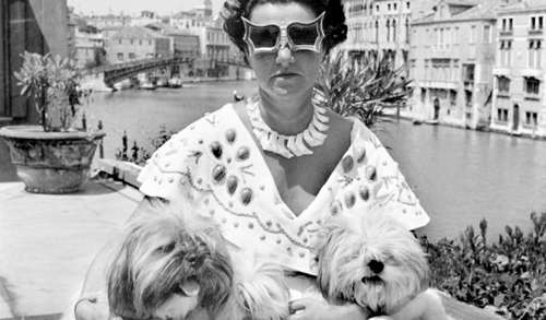 Peggy-Guggenheim-In-venice-Italy