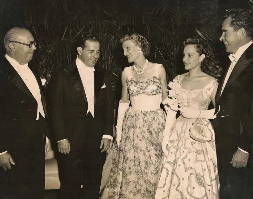 Maria Thereza Goulart acompanhada nos anos 50