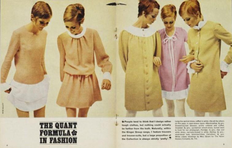 Matéria de revista dos anos 60