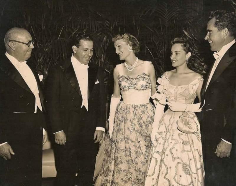 Visita de João Goulart e Maria Thereza Goulart aos Estados Unidos, em 1956.