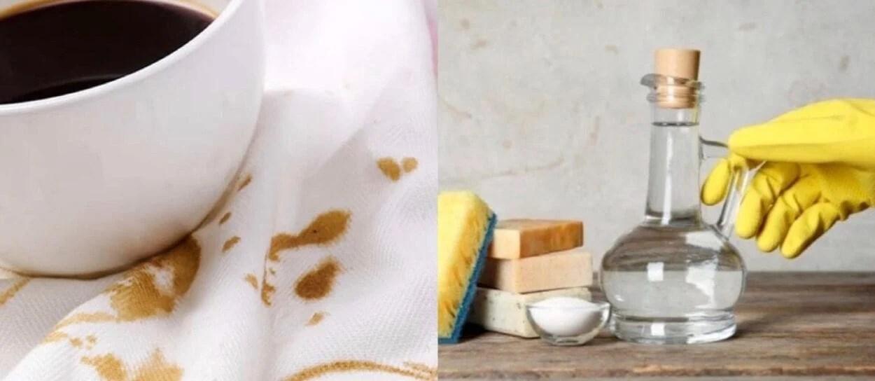 como retirar manchas em roupas
