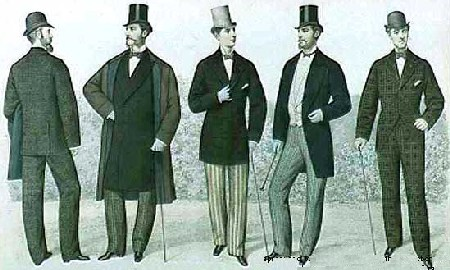 1877_fashion_men - Victorian Era Fashion 1870-1880