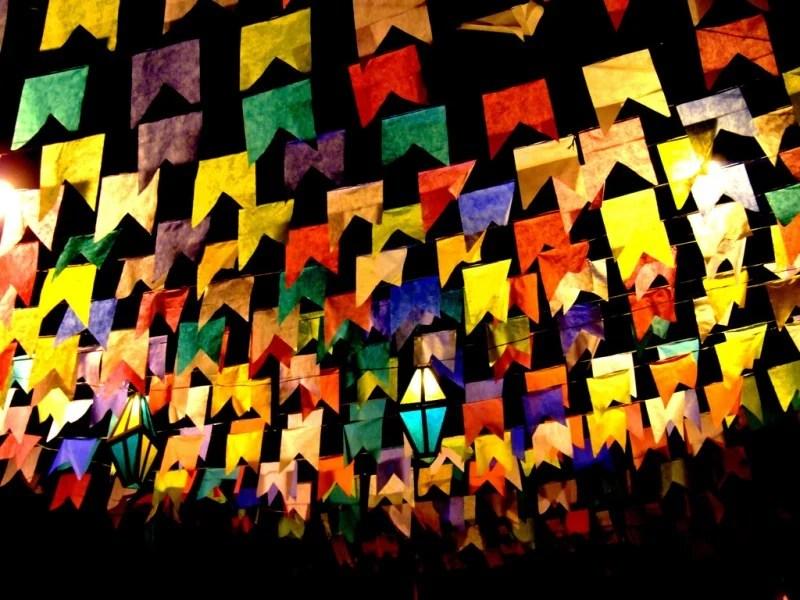 Bandeirinhas de São João. Fonte: Mais PB.