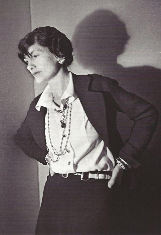 Coco Chanel em 1936.