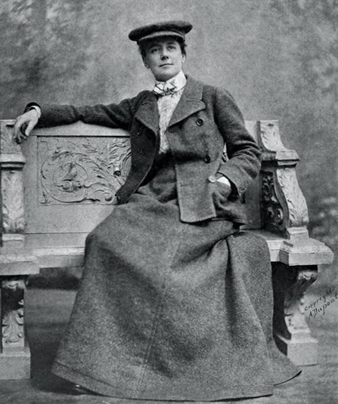 Ethel Smyth, c.1915.
