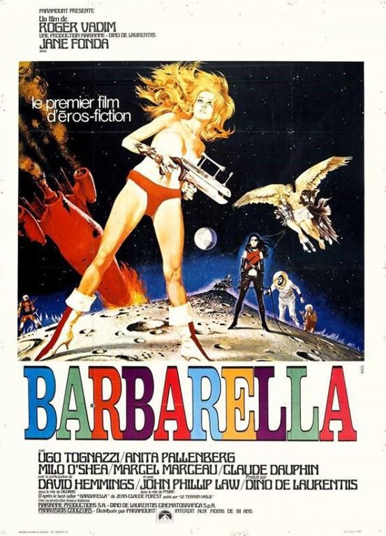 Cena do filme Barbarela.