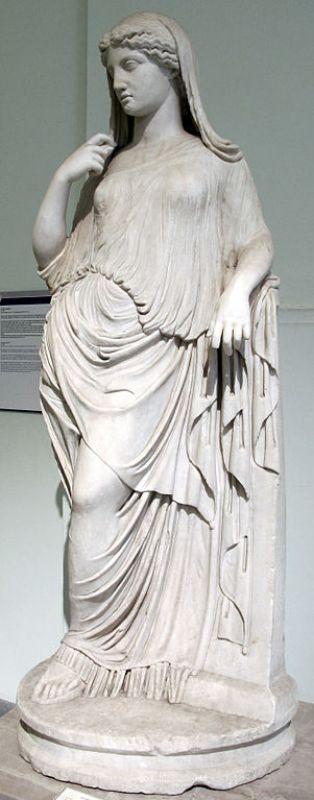 Estátua da deusa grega Afrodite, cópia romana do século II d.C.