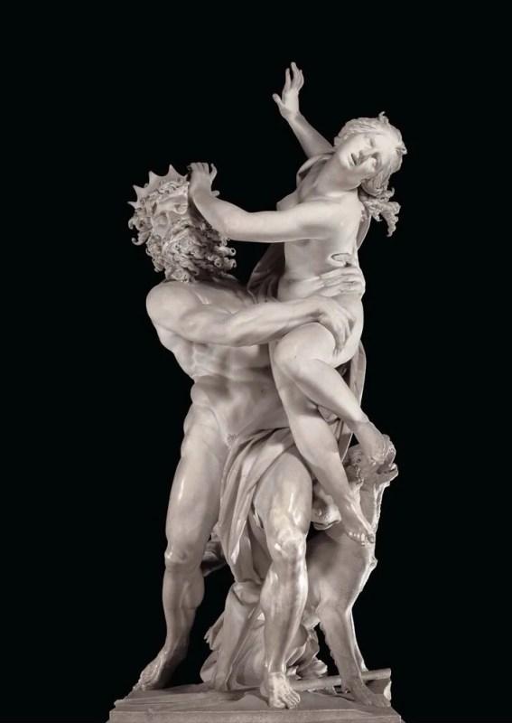 O rapto de Proserpina (Perséfone), de 1621/1622. Crédito: Gian Lorenzo Bernini