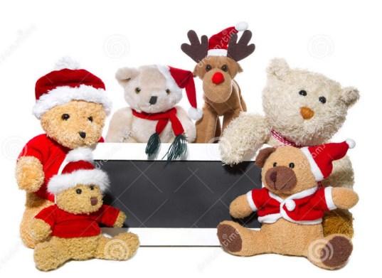Ursos natalinos