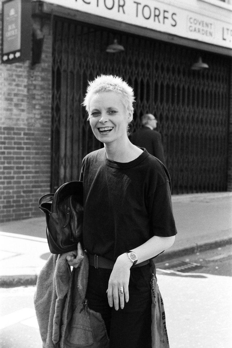 Vivienne Westwood em 1977.