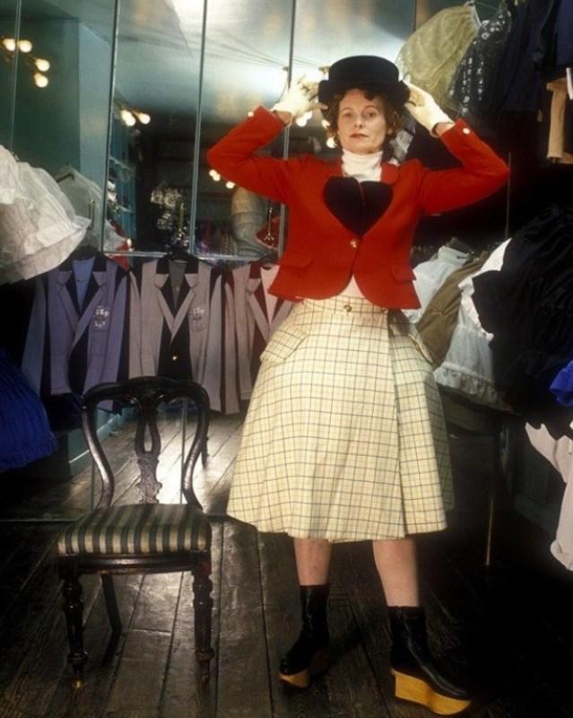 Vivienne Westwood, coleção Harris Tweed, 1987.
