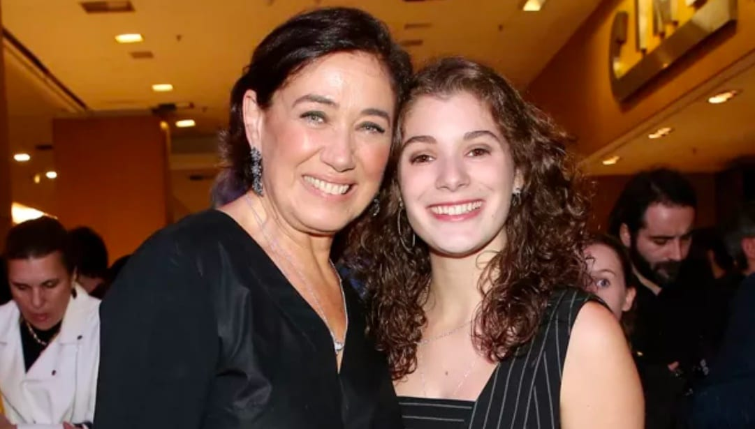 Lilia Cabral e sua filha Giulia