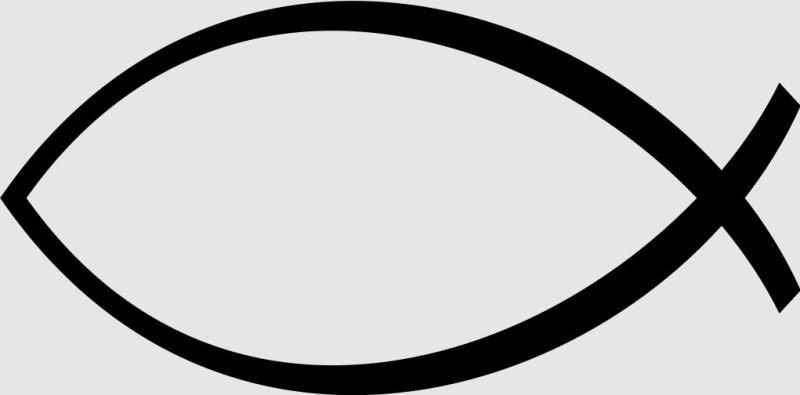 Ichthys, símbolo do cristianismo.