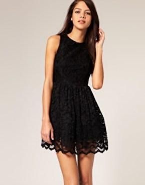 vestidos curtos pretos 51