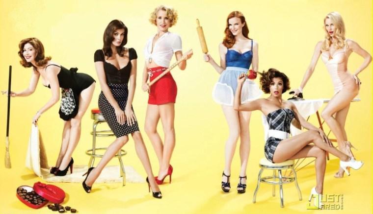 As atrizes da série Desperate Housewives com o estilo pin-ups.