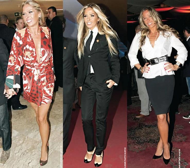 O estilo de Adrinane Galisteu em 2008