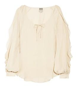 Camisa branca net a porter
