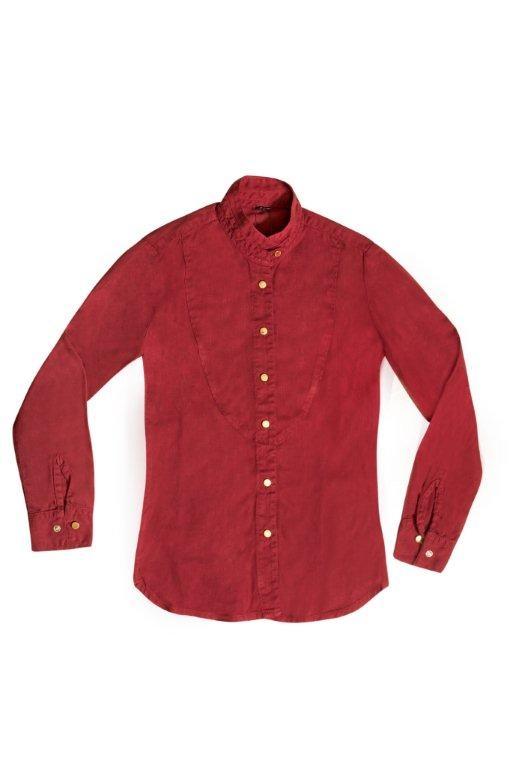 Jeanseria camisa vermelha Hi-Comfort - Canatiba e Lenzing Fibers