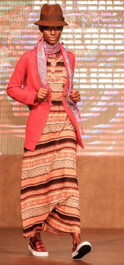 vestido longo etnico