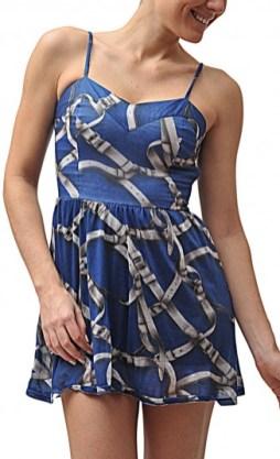 vestido carmim BELTS R$250,80