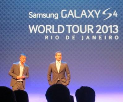 Lançamento do Galaxy S4